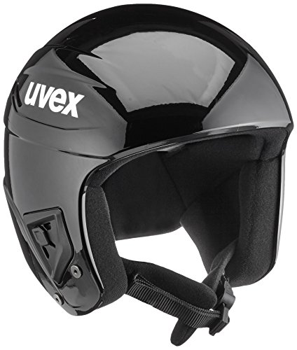 UVEX Casco da sci race + - 59-60, all black