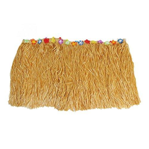 yalulu-276-75-cm-Natural-Artificial-Tejido-mesa-playa-de-jardn-mesa-falda-HAWAIANA-falda-de-hierba-con-flores-para-fiesta-decoracin