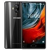 Smartphone 4G Pas Cher, DOOGEE Mix Lite Telephone Portable Debloqué (Écran: 5,2 Pouce - MT6737 Quad Core - 2Go + 16Go - 13MP+13MP Double Caméras - Empreinte Digitale - Double SIM - Android 7.0) Noir