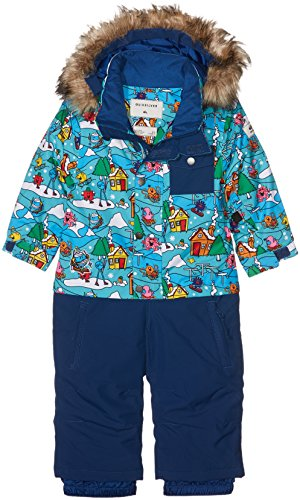 Quiksilver Herren Kids Mr Men Rookie-Snow Suit for Boys 2-7, White, 3