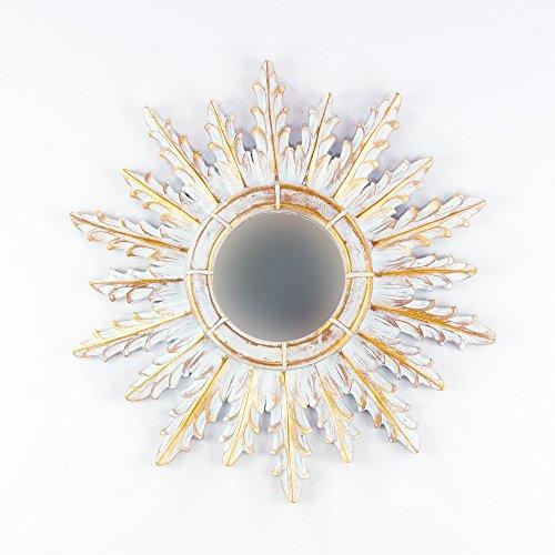 Rococo Espejo Decorativo Tipo Sol Madera Urban Surya