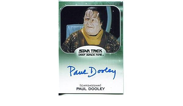 Paul Dooley as Enabran Tain Autograph Card 2014 Star Trek Aliens