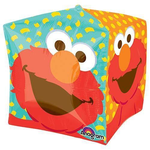 Anagram Folienballon 2845901Sesame Street Elmo Cubez, 38,1cm farbenreiche