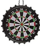 MC Trend Trinkspiel Dartscheibe magnetische Zielscheibe Darts Kronkorken Party-Spiel Geschenk-Idee Bier Keller Garten Stammtisch