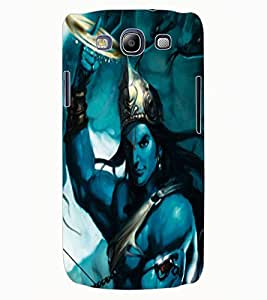 ColourCraft Lord Krishna Design Back Case Cover for SAMSUNG GALAXY S3 I9300