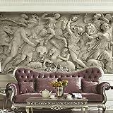 ZYT Art Decó 3D Fondo de pantalla Para el hogar Contemporáneo Revestimiento de pared . Lienzo Material adhesiva requerida Mural . . xxl
