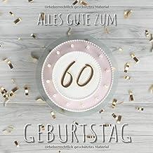 Suchergebnis Auf Amazonde Für Gästebuch Geburtstag 60