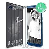 [3 Pack] Huawei Honor View 10 Pellicola Protettiva, LK Protezione Schermo Vetro Temperato Screen Protector [Garanzia di Sostituzione a Vita]