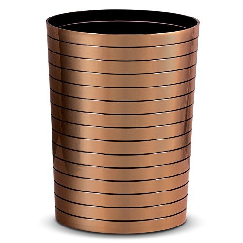 Freelance Miami Polystyrene Wastebin, Waste Storage Box, Dustbin, Trash Can, Copper
