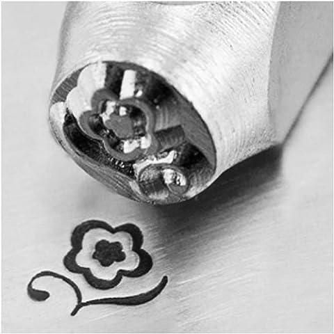 Impress Art Metal Punch Stamp 'Blossom' 6mm (1/4 Inch) Design