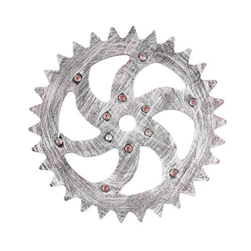 rnes Gang-Wand-Dekor, Barclub-Wand-Dekorations-Raum-hängendes Verzierung # 07(Silber,32cm) ()