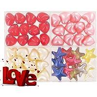 Lot de 4 cajas de 12 perlas de aceite de baño fantasías - LOVE