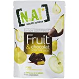 NA! NATURE ADDICTS Sachet de Fruit/Chocolat/Poire 35 g - Lot de 5