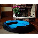 """PetsMaker"""" Deluxe Pet Bed For Dogs And Cats Velvet Ultra-Soft Plush Solid Pet Sleepeer -XXL - B07BWWBZS8"""