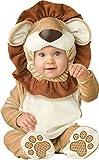 Deluxe Baby Jungen Mädchen Lovable Löwe Dschungelbuch Tag Halloween Charakter Kostüm Kleid Outfit - Braun, Braun, 0-6 Months