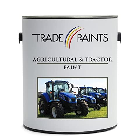 Tractor & Agricultural Machinery Equipment Enamel Gloss Metal Paint (2.5 Litre, New Holland Red)