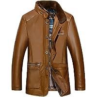 YUYU Plush Jacket degli uomini grande ispessita, tenere al caldo