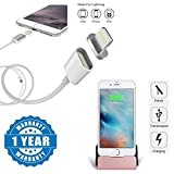 #9: Drumstone 8-Pin 2.4A Fast Charging & Data Sync Magnetic Cable with Dock Charger With Charging & Data Sync Lighting 8 Pin for iPhone 5/5S/5C/SE/6/6S/7 & iPad (One year warranty)