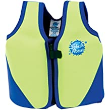 Splash About - Chaleco de flotabilidad para niños (neopreno) multicolor Lime/Royal Talla:1-3 Years