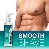FOREVER GONE MENS BODY Cream Für immer verschwunden Mens-Körper- ANTI eingewachsene Haare & RASIERSCHAUM
