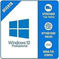 Chiave di prodotto di Windows 10 Pro e Download Link 32/64 bit
