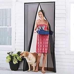 homitt insektenschutzvorhang t r fliegengitter magnetvorhang glasfaser magnetischer. Black Bedroom Furniture Sets. Home Design Ideas