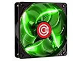 Circle Stay Cool CG-12 120 mm LED Case Cabinet Fan (Green)