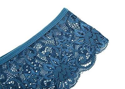 MOONIGHT 4er/5er Pack Damen Baumwolle Dessous Unterwäsche Packung Wäsche Unterkleidung
