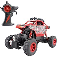 Hugine Upgrade Version Rock Crawler RC Car Off Road Rechargeable Remote Control Car 4x4 Dune Buggy Radio Control Monster Truck 2.4Ghz Toy - Compare prices on radiocontrollers.eu