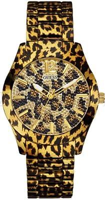Reloj Guess W0001L2 de cuarzo para mujer con correa de acero inoxidable, color multicolor de Guess