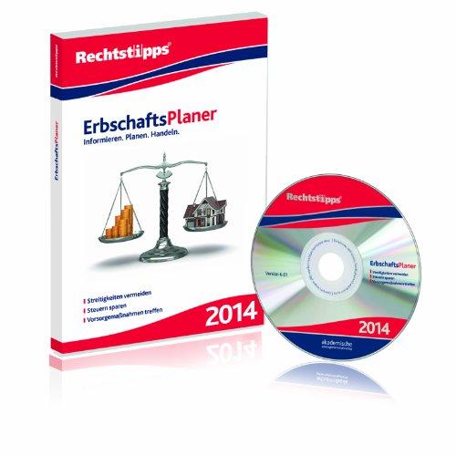 Der ErbschaftsPlaner 2014, CD-ROM Informieren, Planen, Handeln. Streitigkeiten vermeiden - Steuern sparen - Vorsorgemaßnahmen treffen