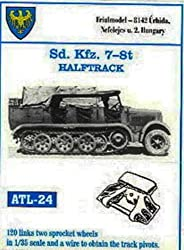 Friulmodel ATL24 1/35 Metal Track Link Set with Drive Sprockets for Sdkfz7 8 ton halftrack