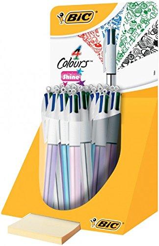 BIC Expositor 4colores shine Bic–902128- livraison en 10días ouvrables aproximadamente