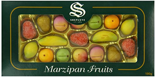 Shepcote Marzipan Fruits Gift Box 190 g - just like back in the day!