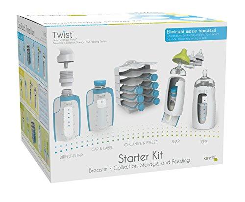 Kiinde Giro de almacenamiento de leche materna Starter Kit