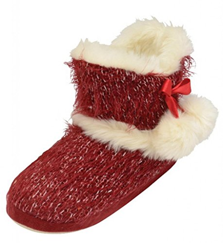 Dunlop Bethan, Stivali donna Rosso (rosso)