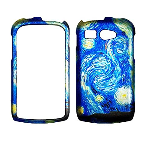 2D CaBlue Design Kyocera Hydro C5170 Boosts Mobile & Cricket Case Cover Hard Phone Case Snap-on Cover Rubberized Touch Protector