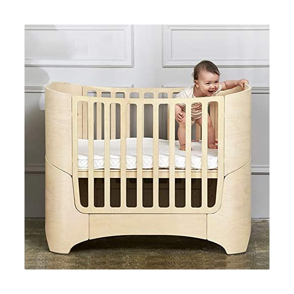 VBARV 4-in-1 baby cot, height adjustable children's play cot, multifunctional 0-12 year-old changing bed, fixed side cot, solid pine structure Children's bedroom furniture VBARV Easy-to-use design: Convertible cribs on the fixed side make it easy to convert a crib from a crib to a toddler / day bed or even an entire bed! This versatile crib will provide your child with a comfortable place to sleep from infancy to adolescence. Adjustable Mattress Height: The convertible crib has 3 adjustable mattress heights to keep your baby safely and comfortably in bed until the adult grows up. This convertible adjustable bed will make your life unforgettable. 5