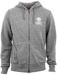 Franklin & Marshall Herren Sweatshirt grau Sports Grey Mel Medium