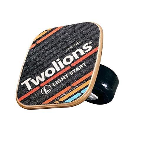 TWOLIONS-Grom Drift Skates Freeline Sports mit 72mm PU Räder und ABEC 7 Kugellager (Links & Rechts)