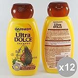Set 12Ultra Dolce Shampoo 250Avocado & Karite 'Kompatible für Haar