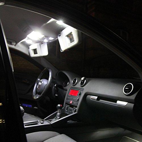 Gl/ühbirne T10 12V 3W KFZ Beleuchtung * PRAKTISCHES SET * Glassockellampe Autolampen WERKSTATTWARE vom Jurmann Trade GmbH/® Gl/ühlampe Soffitte W2.1x9.5d W3W LONGLIFE 10 St/ück