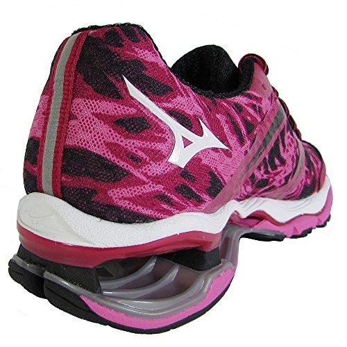 Mizuno Wave Creation 15 Maschenweite Laufschuh Pink / Schwarz / Pink