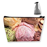 Cute Stationery Receive Bag Unique Ice Cream Pencil Bag