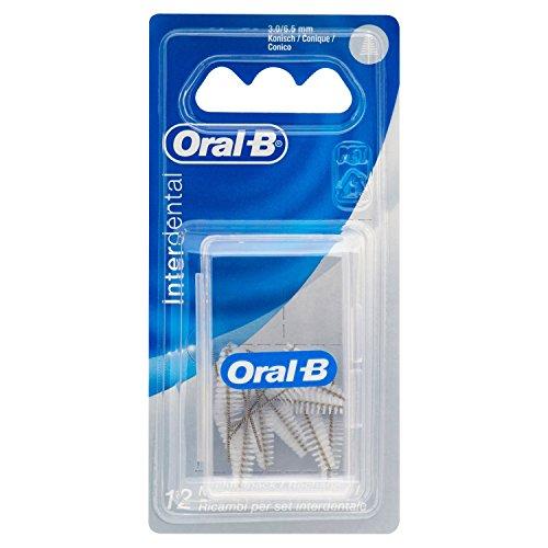Oral-B Manual Interdental Nachfüllpack Konisch Fein, 3-6,5mm, 3er Pack (3 x 12 Stück)