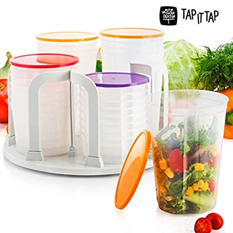 Lock Stock Spin Plastic Containers