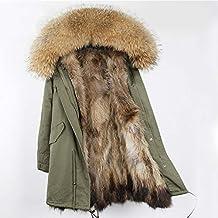 Abrigo de Chaqueta Larga para Mujer, Parka para Mujer Abrigo de Invierno con Capucha Cálido