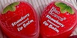 Blue Heaven Strawberry Flavoured Lip Balm 4g Each