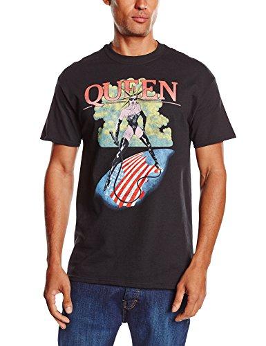 Queen Herren T-Shirt Mistress Schwarz - Schwarz