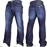 77917fa4e9e07b Best Bootcut Jeans - Von Denim Men's Wide Leg Stretch Bootcut Flared Review